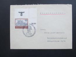 Generalgouvernement 1943 Michel Nr. 116 Eckrandstück Oben Rechts! FDC / Beleg Mit SST Nach Nürnberg Echt Gelaufen!?! - Occupation 1938-45