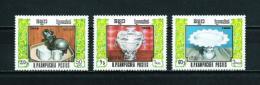 Kampuchea  Nº Yvert  699/701  En Nuevo - Kampuchea