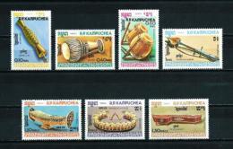 Kampuchea  Nº Yvert  498/504  En Nuevo - Kampuchea
