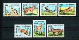 Kampuchea  Nº Yvert  470/6  En Nuevo - Kampuchea