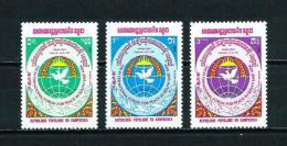 Kampuchea  Nº Yvert  439/41  En Nuevo - Kampuchea
