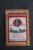TAVANA RHUM - ALBI, Etablissement P.LEGRAIN - Rhum