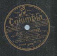 "78 Tours - JOSEPHINE BAKER  - COLUMBIA 229 "" J'AI DEUX AMOURS "" + "" LA PETITE TONKINOISE "" - 78 T - Disques Pour Gramophone"