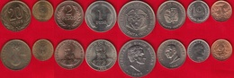 Colombia Set Of 8 Coins: 1 Centavo - 20 Pesos 1965-1993 UNC - Colombia