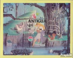 Antigua Block52 (kompl.Ausg.) Postfrisch 1980 Walt Disneys Dornröschen - Anguilla (1968-...)