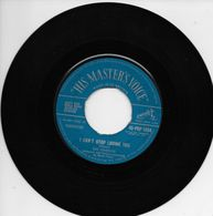 """Ray Charles 45t. SP ANGLETERRE """"I Can't Stop Loving You"""" - Soul - R&B"""