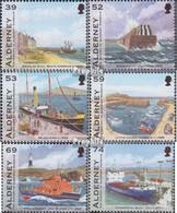 GB - Alderney 459-464 (kompl.Ausg.) Postfrisch 2012 Hafen - Alderney