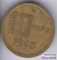 Türkei KM-Nr. : 868 1940 Sehr Schön Aluminium-Bronze Sehr Schön 1940 10 Para Mondsichel Und Stern - Türkei