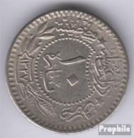 Türkei KM-Nr. : 768 1327 /8 Sehr Schön Nickel 1327 10 Para Tughra El-Ghazi - Türkei