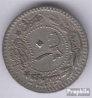Türkei KM-Nr. : 760 1327 /7 Sehr Schön Nickel 1327 10 Para Tughra Reshat - Türkei