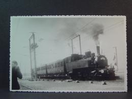 Locomotive à Vapeur ABC N°2 En Gare D'Igney Avricourt Le 11/06/1966 - Trenes