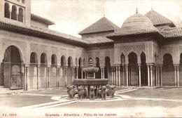 GRANADA ALHAMBRA  PATIO DE LOS LEONES - Granada