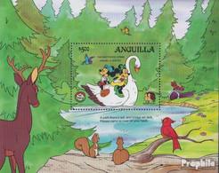 Anguilla Block65 (kompl.Ausg.) Postfrisch 1985 Weihnachten: Walt-Disney-Figuren - Anguilla (1968-...)