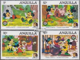 Anguilla 670-673 (kompl.Ausg.) Postfrisch 1985 Weihnachten: Walt-Disney-Figuren - Anguilla (1968-...)