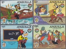 Anguilla 665-668 (kompl.Ausg.) Postfrisch 1985 Weihnachten: Walt-Disney-Figuren - Anguilla (1968-...)