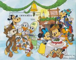 Anguilla Block59 (kompl.Ausg.) Postfrisch 1984 Weihnachten: Walt-Disney-Figuren - Anguilla (1968-...)