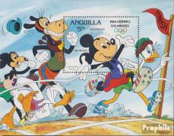 Anguilla Block53II (kompl.Ausg.) Postfrisch 1984 Walt-Disney-Figuren - Anguilla (1968-...)