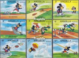 Anguilla 567A I-575A I (kompl.Ausg.) Postfrisch 1984 Walt-Disney-Figuren: Zehnkampf - Anguilla (1968-...)
