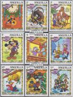 Anguilla 557-565 (kompl.Ausg.) Postfrisch 1983 Weihnachten: Walt-Disney-Figuren - Anguilla (1968-...)