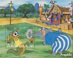 Anguilla Block45 (kompl.Ausg.) Postfrisch 1982 Walt-Disney-Figuren: Fußball-WM - Anguilla (1968-...)