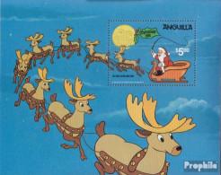 Anguilla Block40 (kompl.Ausg.) Postfrisch 1981 Weihnachten: Walt-Disney - Anguilla (1968-...)