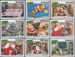 Anguilla 451-459 (kompl.Ausg.) Postfrisch 1981 Weihnachten: Walt-Disney - Anguilla (1968-...)