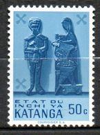 KATANGA  Art Indigène 1961 N°54 - Katanga