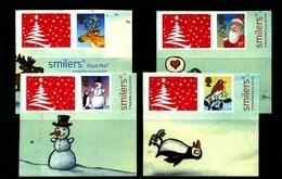 GREAT BRITAIN - 2012  CHRISTMAS  LITHO  SET  EX SMILERS   MINT NH - 1952-.... (Elizabeth II)