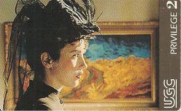 TICKET-MAGNETIQUE--CINEMA-UGC-U 20-1994-CAMILLE  CLAUDEL-ADJANI-TBE - Tickets D'entrée