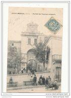 11 SAINT MARCEL PORTAIL DE L ANCIEN REMPART CPA BON ETAT - France