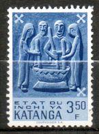 KATANGA  Art Indigène 1961 N°57 - Katanga