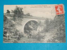 """19 ) Champagnac-la-prune : Pont De La Mère """" Récolte Du Foins """" : Année 1913 : EDIT : Eyhoulet - Other Municipalities"""