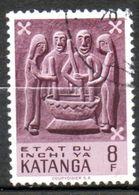 KATANGA  Art Indigène 1961 N°60 - Katanga