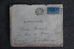 Lettre D'ITALIE ( TORINO) Vers FRANCE - 1900-44 Victor Emmanuel III