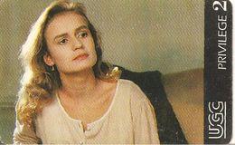 TICKET-MAGNETIQUE--CINEMA-UGC-U7-1992-S. BONNAIRE/QUELQUES JOURS Avec MOI-TBE-RARE - Tickets D'entrée