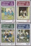 Kaimaninseln 405-408 (kompl.Ausg.) Postfrisch 1978 Mädchen - Kaimaninseln