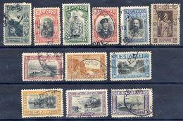 BULGARIA 1911 Definitive Set Of 12 Used.  Michel 78-89 - 1909-45 Kingdom