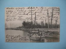 CPA     Viêt-Nam  Pai-hoo  Transport Maritime De Marchandises 1905 Pour La France Haute-Savoie - Vietnam