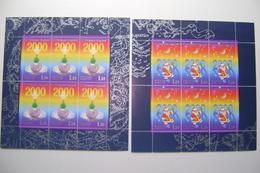 Russland 1999, Mi.776 - 777 KleinboogNeujahr Postfrisch/neuf Sans Charniere /MNH/** - 1992-.... Federazione