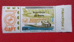 Surcharge Benin Sur Timbre Philexafrique 2  Neuf ** MNH Michel N° 1110 - Benin - Dahomey (1960-...)