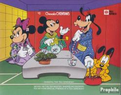 Grenada-Grenadinen Block222 (kompl.Ausg.) Postfrisch 1991 Walt-Disney-Figuren In Japan - St.Vincent & Grenadines