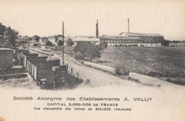 D84 - Bollène - Socièté Anonyme Des Etablissement  A. Valuy : Achat Immédiat - Bollene