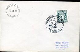 31490 Norway  , Special Postmark 1993 Tromsdalen ,. Showing  A Cableway, Seilbahn, Telepherique - Non Classés