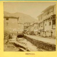 Puy De Dôme Auvergne - CHATELDON - Photo Stéréoscopique Vers 1870 - Voir Scans - Photos Stéréoscopiques