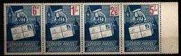 Grande-Bretagne 1971 N° NC ** Vignettes, Main, Timbre Sur Timbre, Big Ben, Londres, Grève London Parcel Delivery Service - 1952-.... (Elizabeth II)
