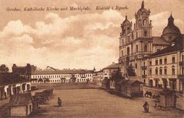 Belarus - Grodno - Katholische Kirche Und Marktplatz - Kosciol I Rynek - Belarus