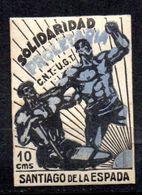 Viñeta Nº 5 De Solidaridad Proletariada Santiago De La Espada - Viñetas De La Guerra Civil