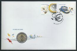 Portugal Numisbrief 10 Jaar Euro - Unclassified
