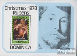 Dominica Block51 (kompl.Ausg.) Postfrisch 1978 Weihnachten - Dominica (1978-...)