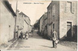 PERNAND. RUE DE VERGY - France